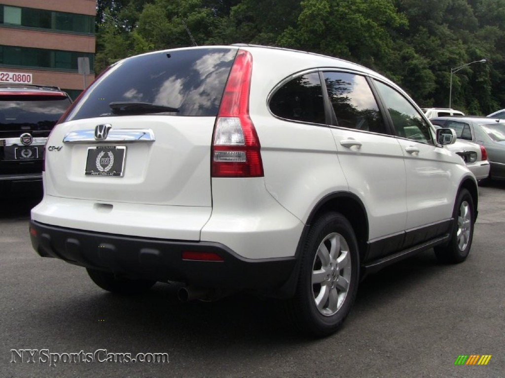 2008 honda cr v ex l 4wd in taffeta white photo 4 022957 cars for sale. Black Bedroom Furniture Sets. Home Design Ideas