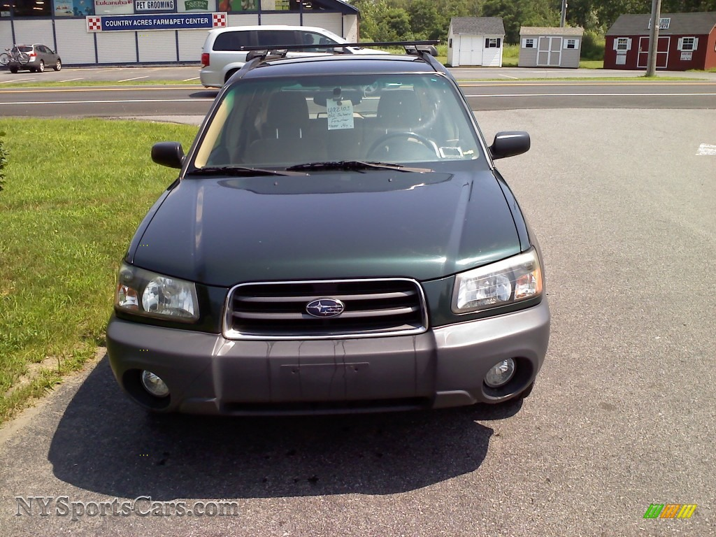 2004 subaru forester 2 5 x in woodland green pearl photo 2 738525 cars. Black Bedroom Furniture Sets. Home Design Ideas