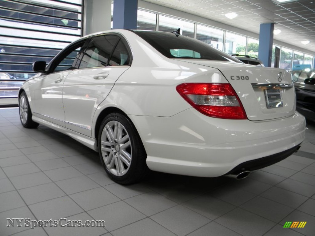 2009 Mercedes Benz C 300 4matic Sport In Arctic White