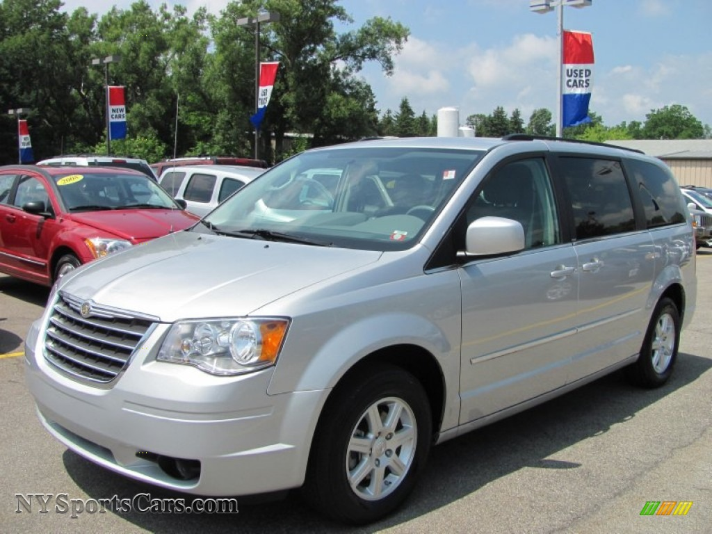 2010 chrysler town country touring in bright silver. Black Bedroom Furniture Sets. Home Design Ideas