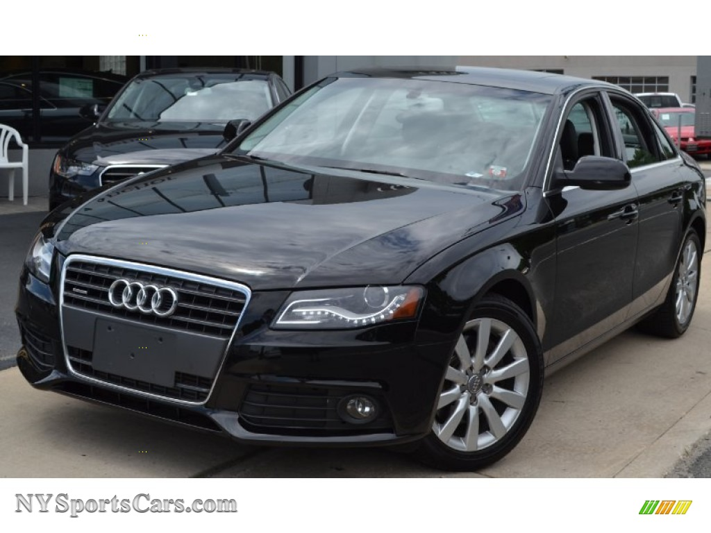 2010 audi a4 2 0t quattro sedan in brilliant black 014987 cars for sale. Black Bedroom Furniture Sets. Home Design Ideas