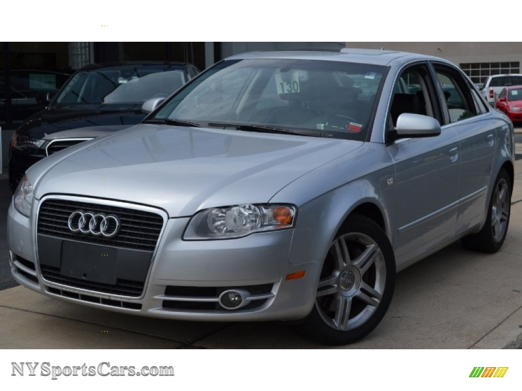 2006 Audi A4 2 0t Quattro Sedan In Light Silver Metallic