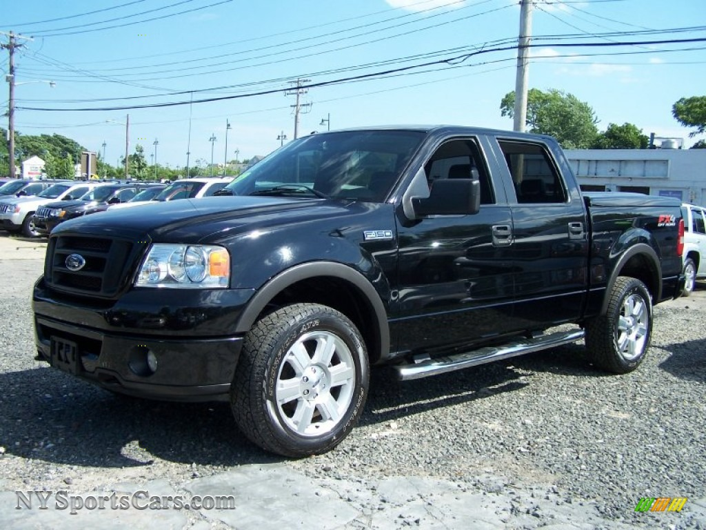 2006 Ford F150 Fx4 Supercrew 4x4 In Black Photo 2