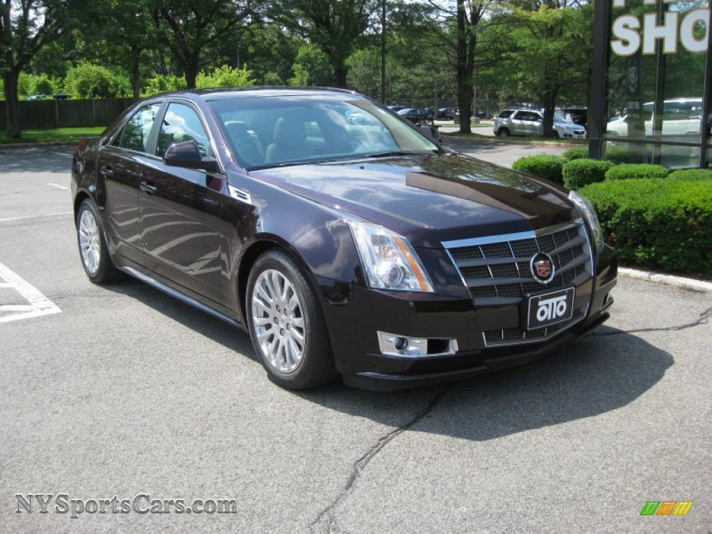 2010 cadillac cts 4 3 6 awd sedan in black cherry 110307. Black Bedroom Furniture Sets. Home Design Ideas