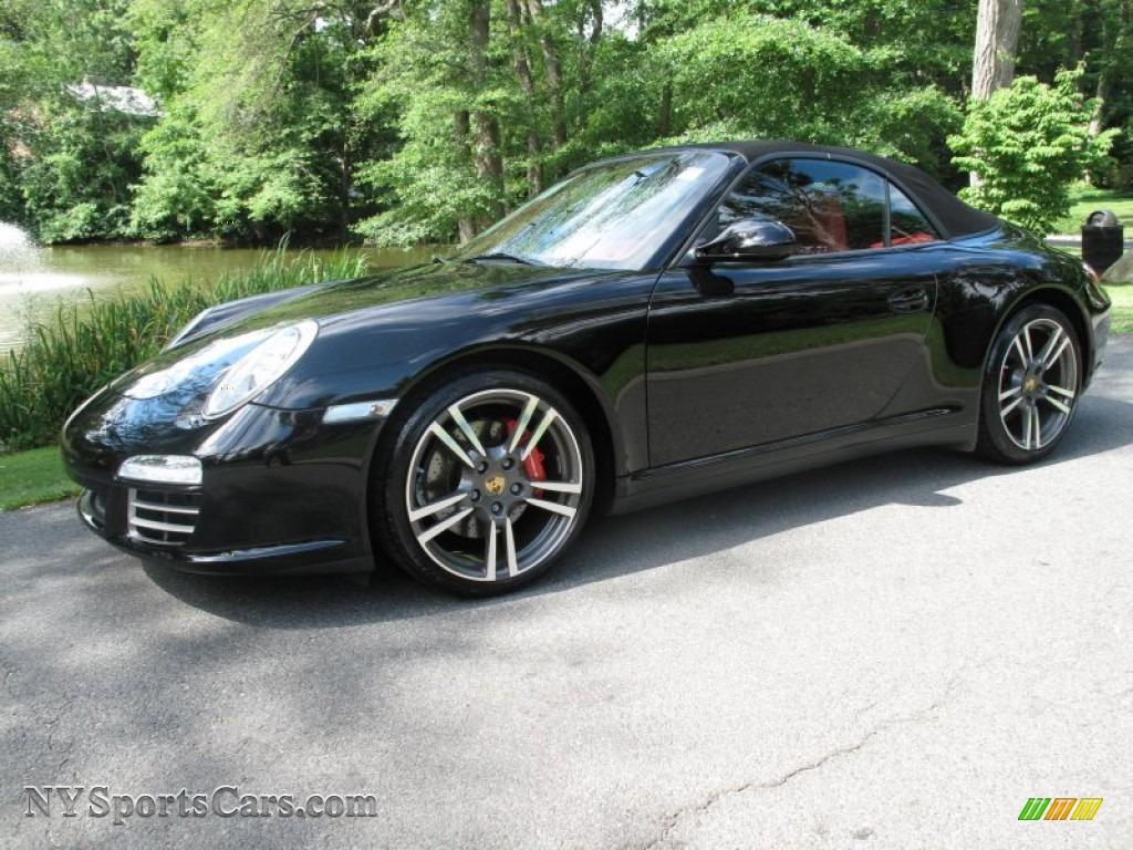 Worksheet. 2009 Porsche 911 Carrera 4S Cabriolet in Black  756133
