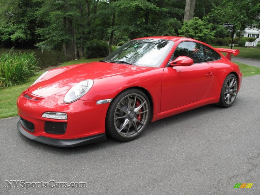 2010 porsche 911 gt3 in guards red 783503 cars for sale in new york. Black Bedroom Furniture Sets. Home Design Ideas