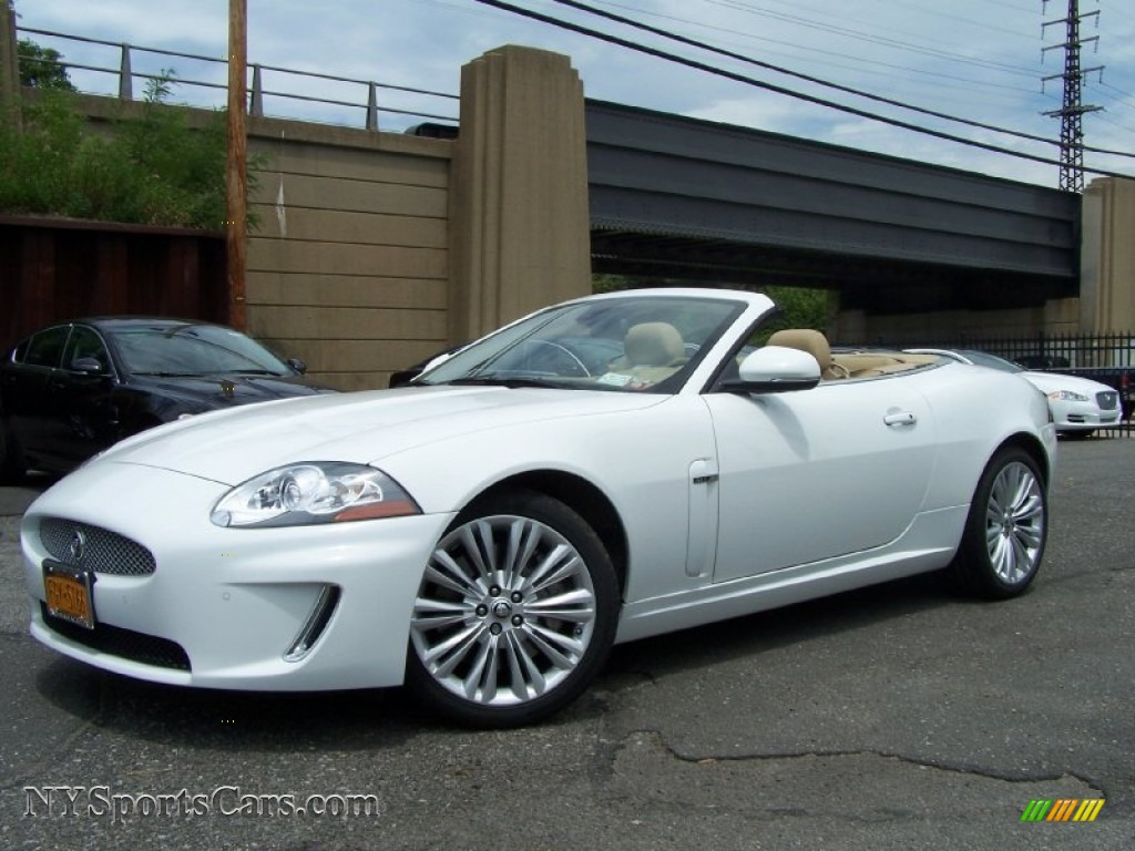 2011 jaguar xk xk convertible in polaris white b40854 cars for sale in. Black Bedroom Furniture Sets. Home Design Ideas