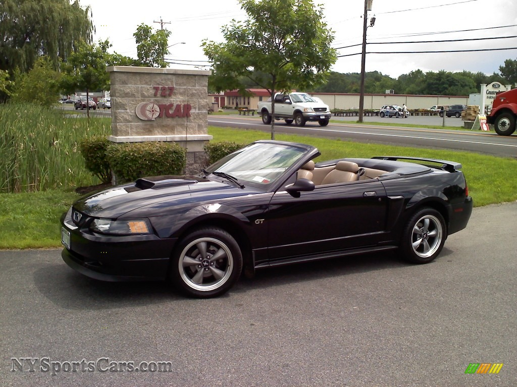 2001 Ford Mustang Gt Convertible In Black 100395
