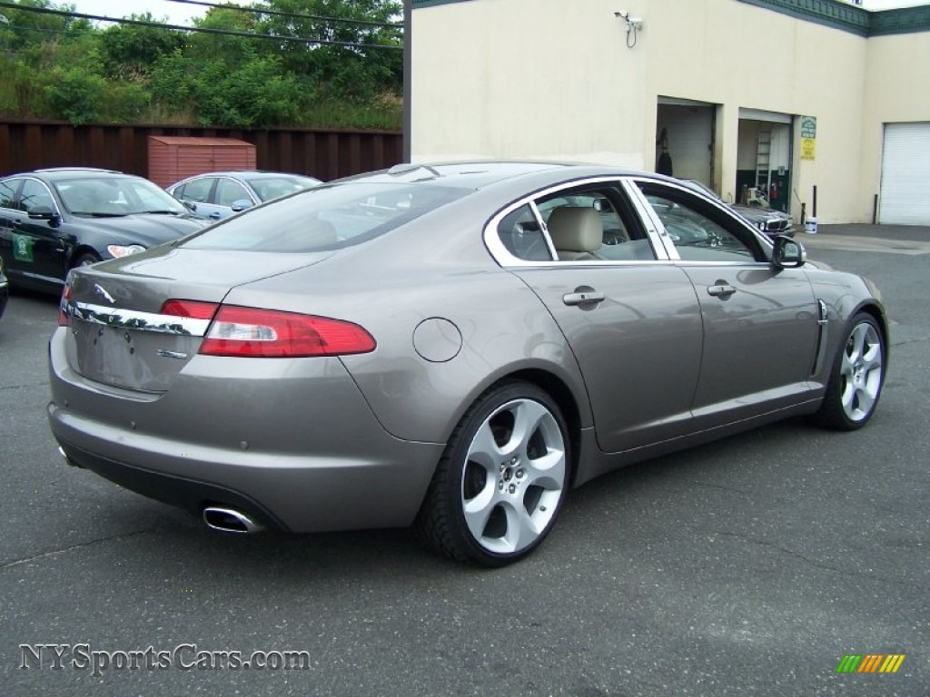 2009 jaguar xf supercharged in lunar grey metallic photo. Black Bedroom Furniture Sets. Home Design Ideas