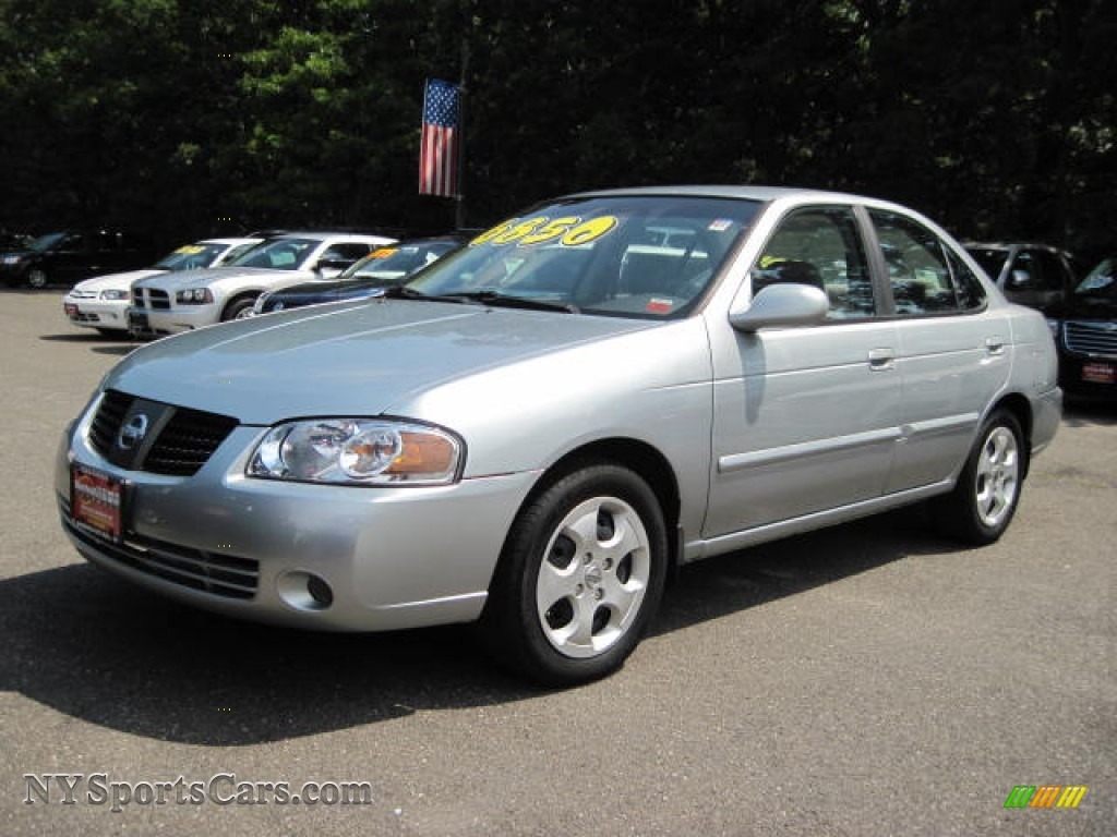 2004 nissan sentra 1 8 s in molten silver 908869 cars for sale in new york. Black Bedroom Furniture Sets. Home Design Ideas