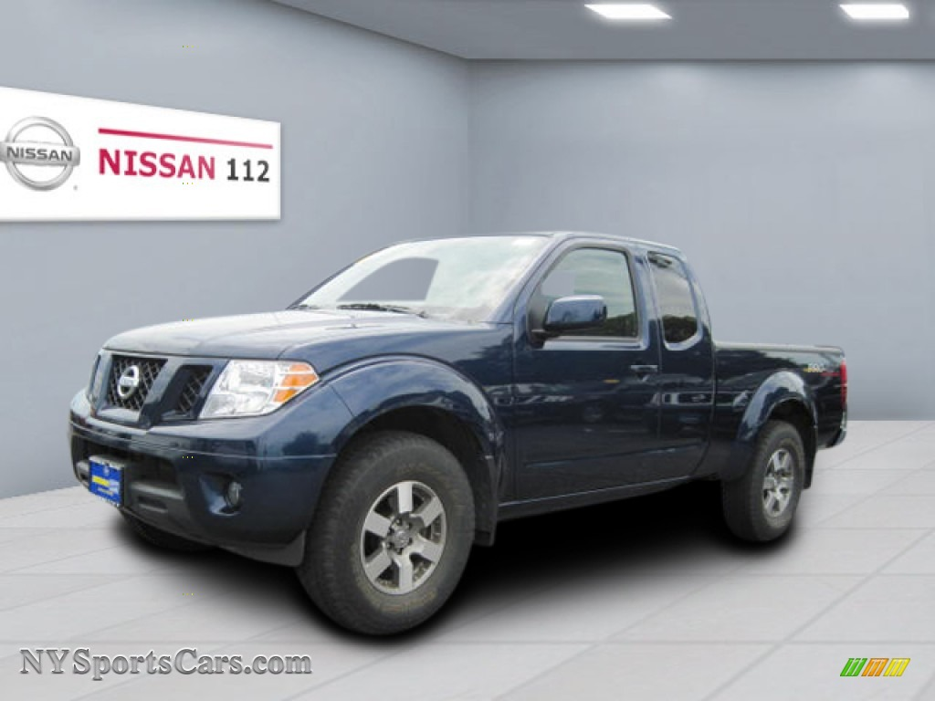 2010 nissan frontier pro 4x king cab 4x4 in navy blue 432228 cars for. Black Bedroom Furniture Sets. Home Design Ideas