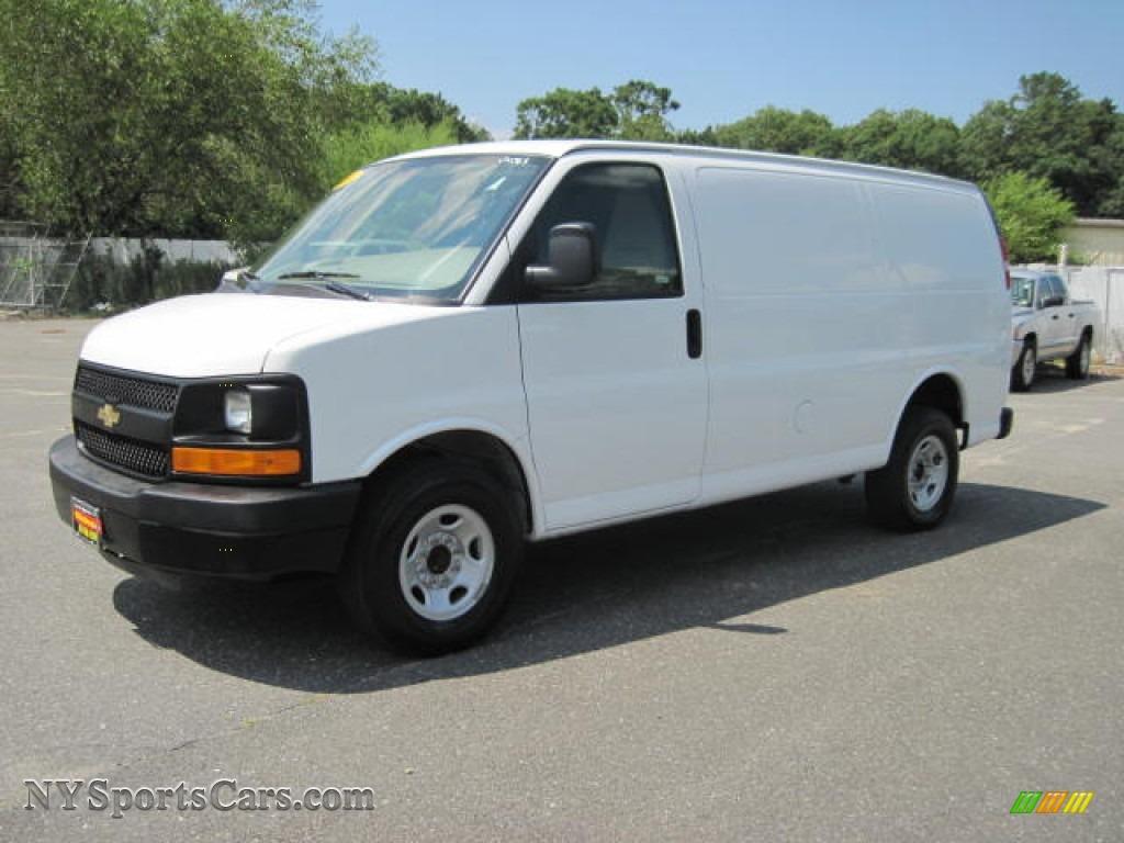 2010 Chevrolet Express 2500 Work Van in Summit White - 134534 ...