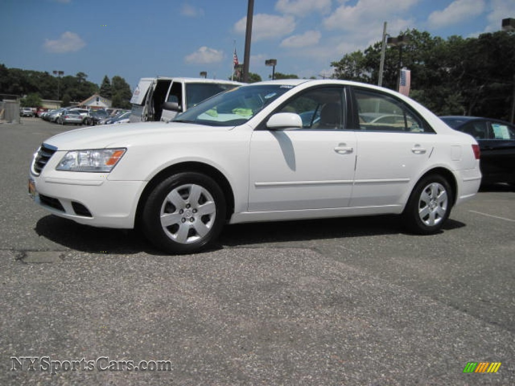 2009 Hyundai Sonata Gls In Powder White Pearl 440162