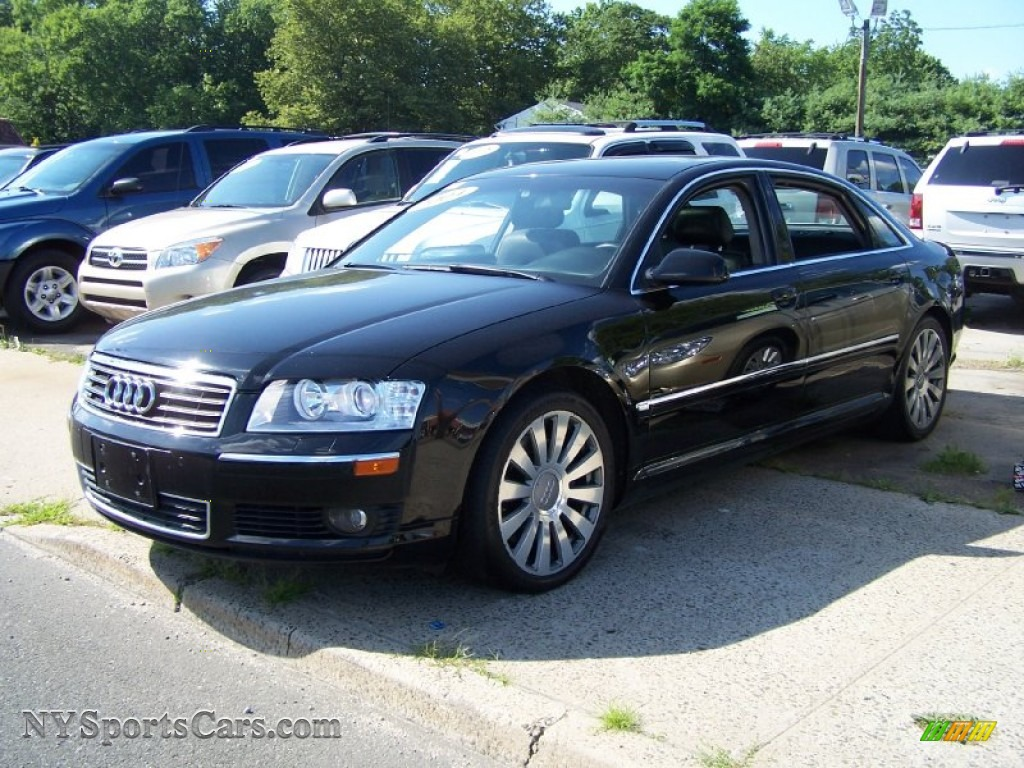 2004 Audi A8 L 4 2 Quattro In Brilliant Black 004112