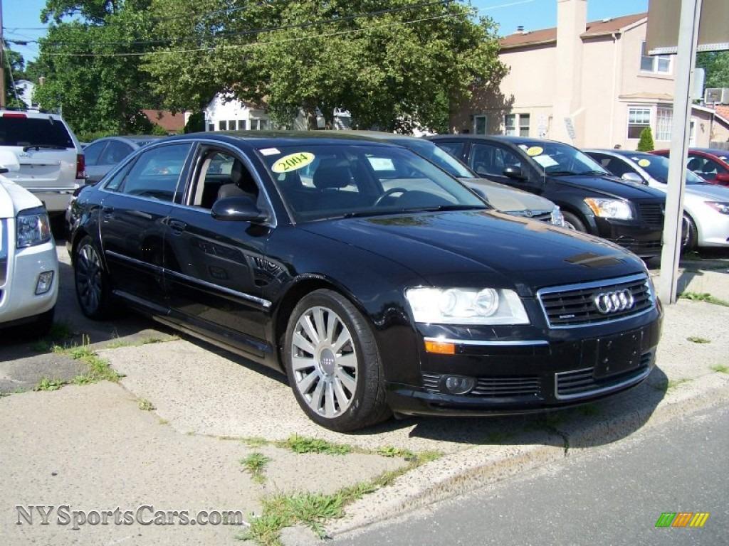 2004 audi a8 l 4 2 quattro in brilliant black photo 3 004112 cars for. Black Bedroom Furniture Sets. Home Design Ideas