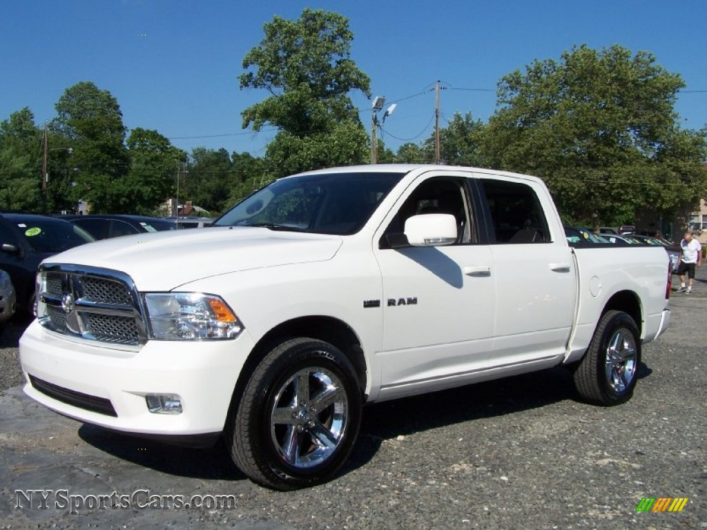 2009 dodge ram 1500 sport crew cab 4x4 in stone white 761783 cars for. Black Bedroom Furniture Sets. Home Design Ideas
