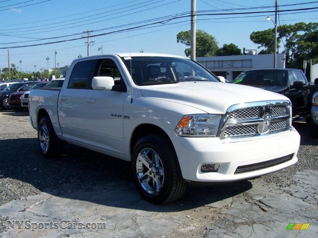 2009 dodge ram 1500 sport crew cab 4x4 in stone white photo 3 761783. Black Bedroom Furniture Sets. Home Design Ideas