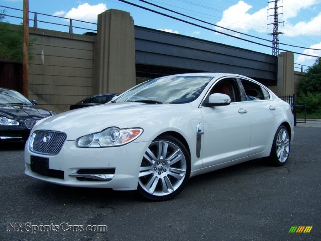 2009 jaguar xf supercharged in porcelain white r36056 cars for sale in. Black Bedroom Furniture Sets. Home Design Ideas