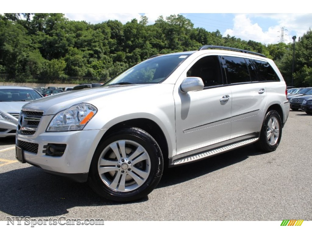 2009 mercedes benz gl 450 4matic in iridium silver metallic 470843 cars. Black Bedroom Furniture Sets. Home Design Ideas