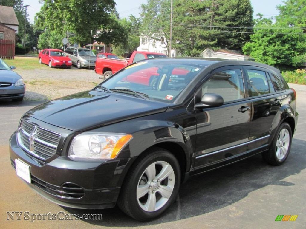 2010 Dodge Caliber Sxt In Brilliant Black Crystal Pearl