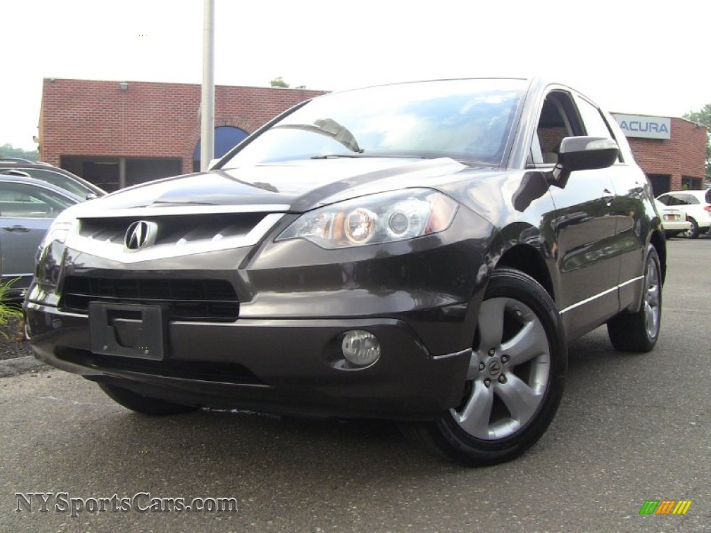 2009 Acura Rdx Sh Awd Technology In Polished Metal