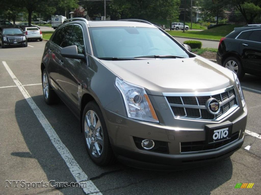 2011 Cadillac Srx 4 V6 Awd In Mocha Steel Metallic