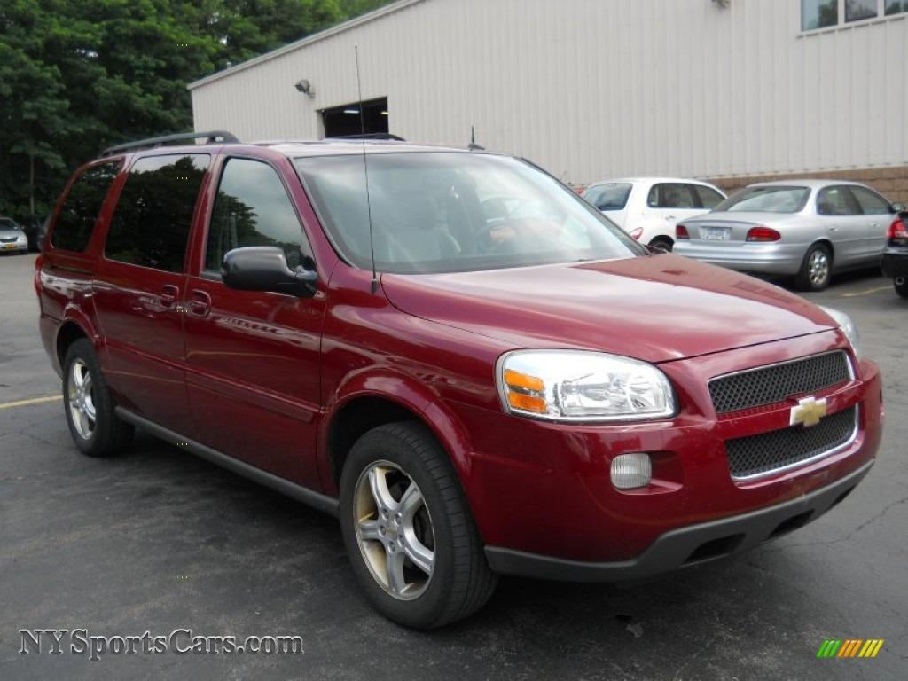 2005 chevrolet uplander ls in sport red metallic photo 16 258139 cars. Black Bedroom Furniture Sets. Home Design Ideas