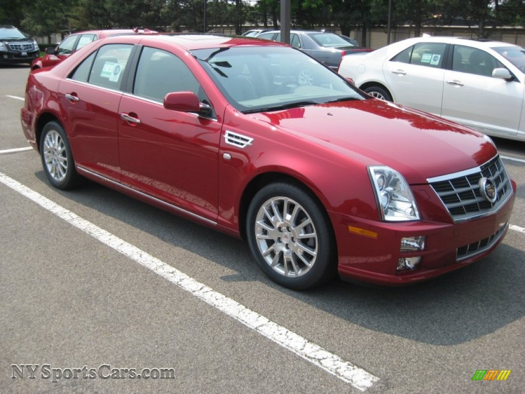 2011 cadillac sts v6 luxury in crystal red tintcoat 146107 cars for sale. Black Bedroom Furniture Sets. Home Design Ideas