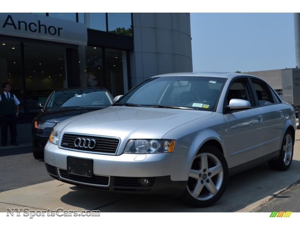 2004 audi a4 1.8t quattro sedan in light silver metallic - 082570