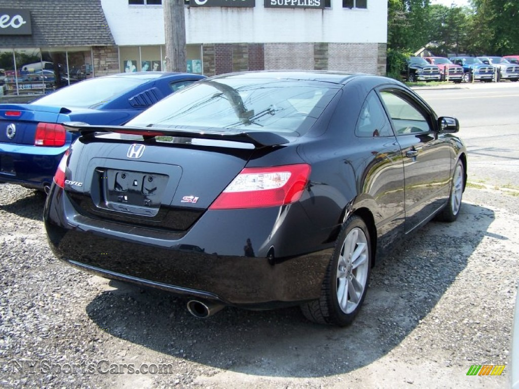 2007 honda civic si coupe in nighthawk black pearl photo 2 710884 cars. Black Bedroom Furniture Sets. Home Design Ideas