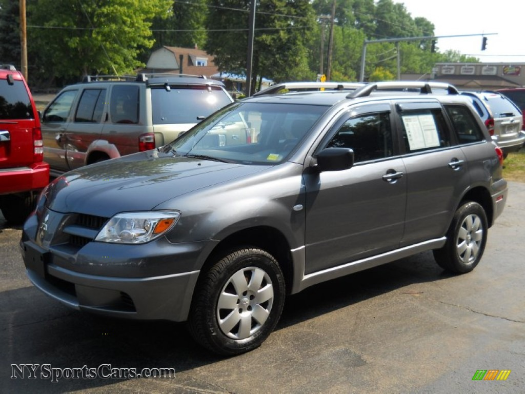 2006 mitsubishi outlander ls 4wd in graphite gray pearl. Black Bedroom Furniture Sets. Home Design Ideas