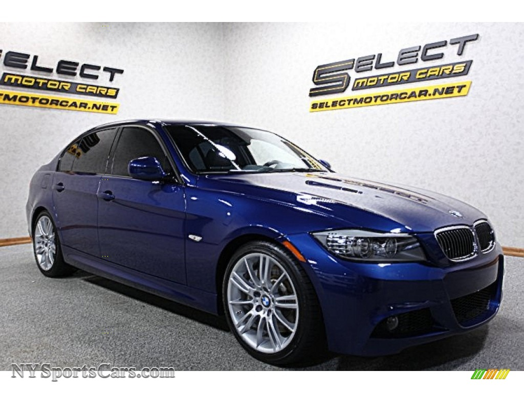 2011 bmw 3 series 335i sedan in le mans blue metallic. Black Bedroom Furniture Sets. Home Design Ideas