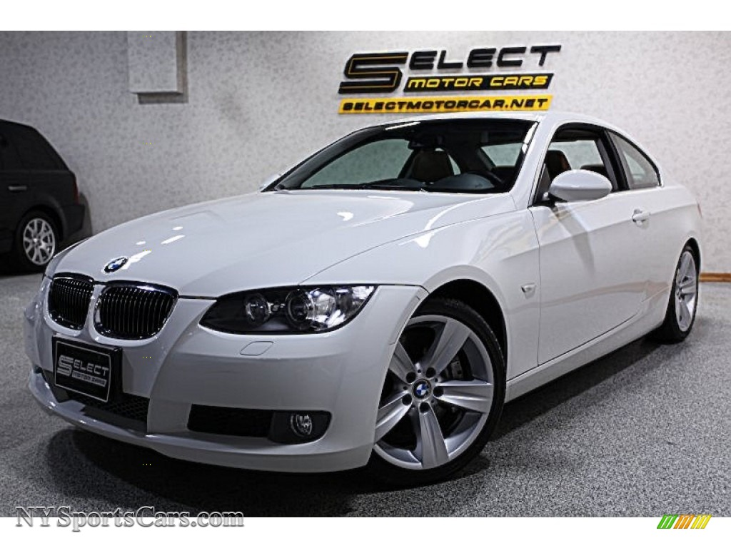 BMW Series I Coupe In Alpine White - Bmw 335i 2008 coupe