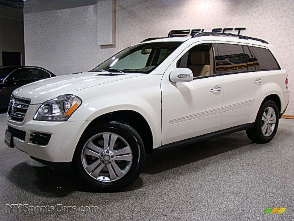 2008 mercedes benz gl 450 4matic in arctic white 438590 for Mercedes benz 2008 gl450 for sale