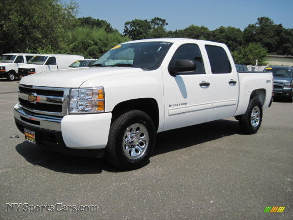 2011 chevrolet silverado 1500 lt crew cab 4x4 in summit white 150127 cars. Black Bedroom Furniture Sets. Home Design Ideas