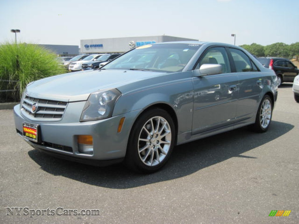 2007 Cadillac Cts Sedan In Sunset Blue 134996