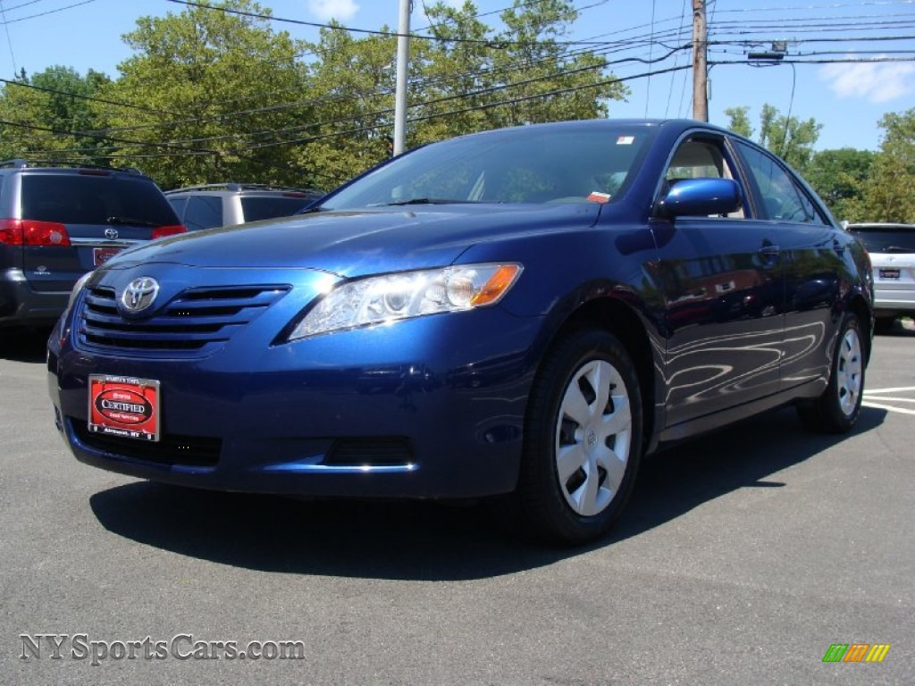 2007 Camry Le Blue Ribbon Metallic Ash Photo 1
