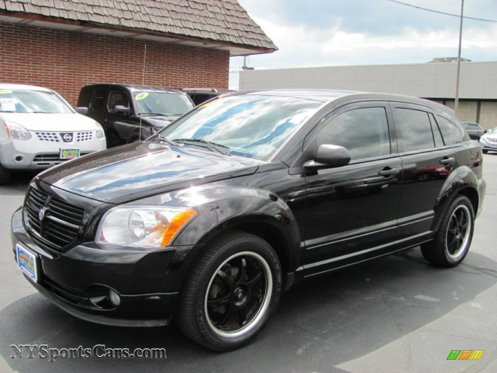 2007 dodge caliber sxt in black 252574 nysportscars. Black Bedroom Furniture Sets. Home Design Ideas