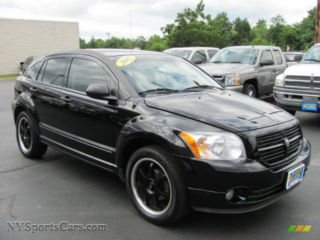 2007 dodge caliber sxt in black photo 19 252574. Black Bedroom Furniture Sets. Home Design Ideas