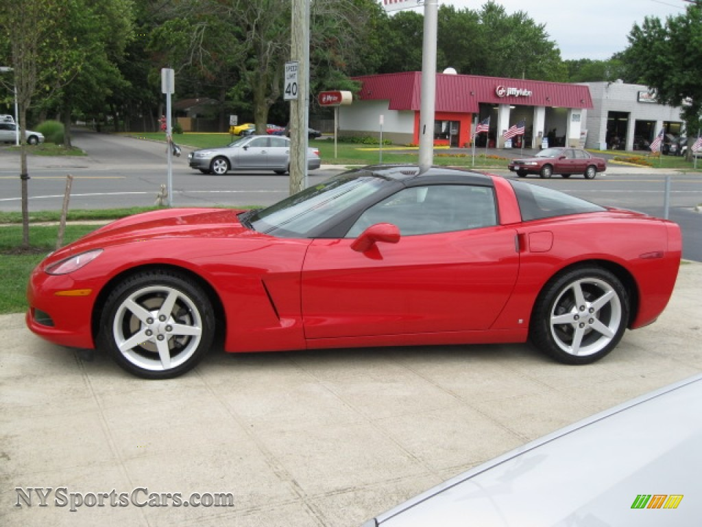 2006 Chevrolet Corvette Coupe In Victory Red 120881