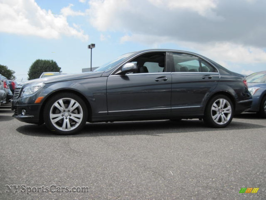 2009 mercedes benz c 300 4matic in steel grey metallic for Mercedes benz smithtown ny