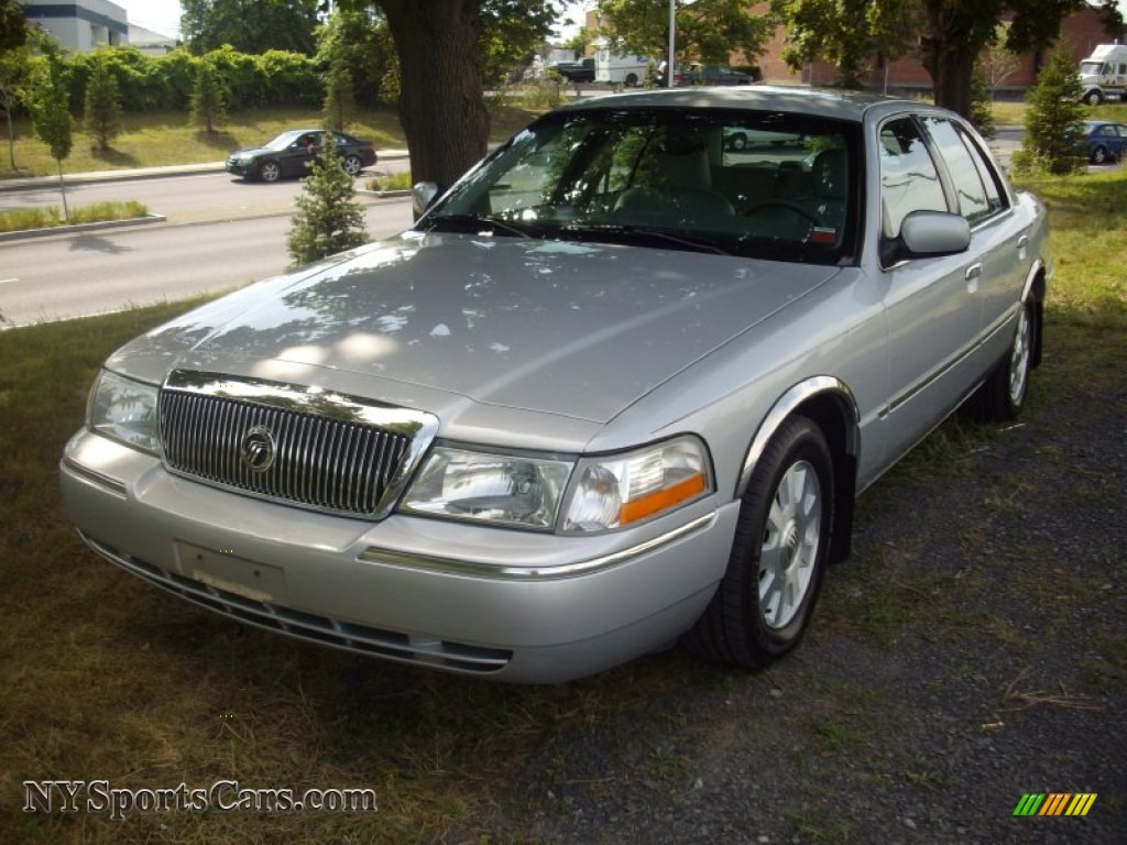2003 mercury grand marquis ls in silver birch metallic 612558 cars for. Black Bedroom Furniture Sets. Home Design Ideas