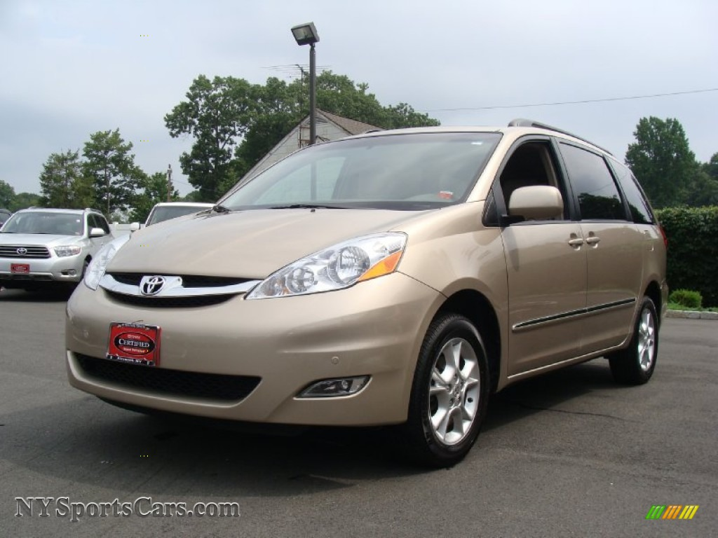 Desert sand mica taupe toyota sienna limited awd