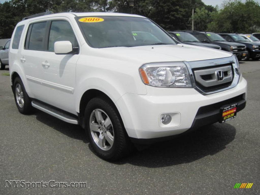 2010 Honda Pilot Reviews, Ratings, Prices - Consumer Reports   2010 Honda Pilot White