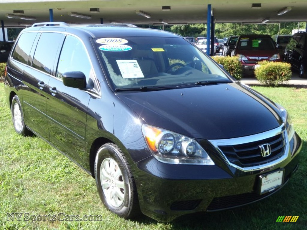2008 honda odyssey ex l in baltic blue pearl 086096 cars for sale in new york. Black Bedroom Furniture Sets. Home Design Ideas