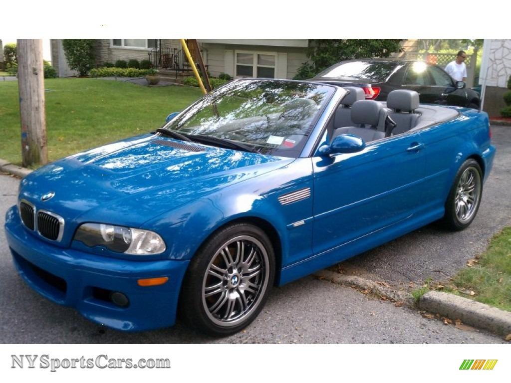 2002 M3 Convertible Laguna Blue Grey Photo 1