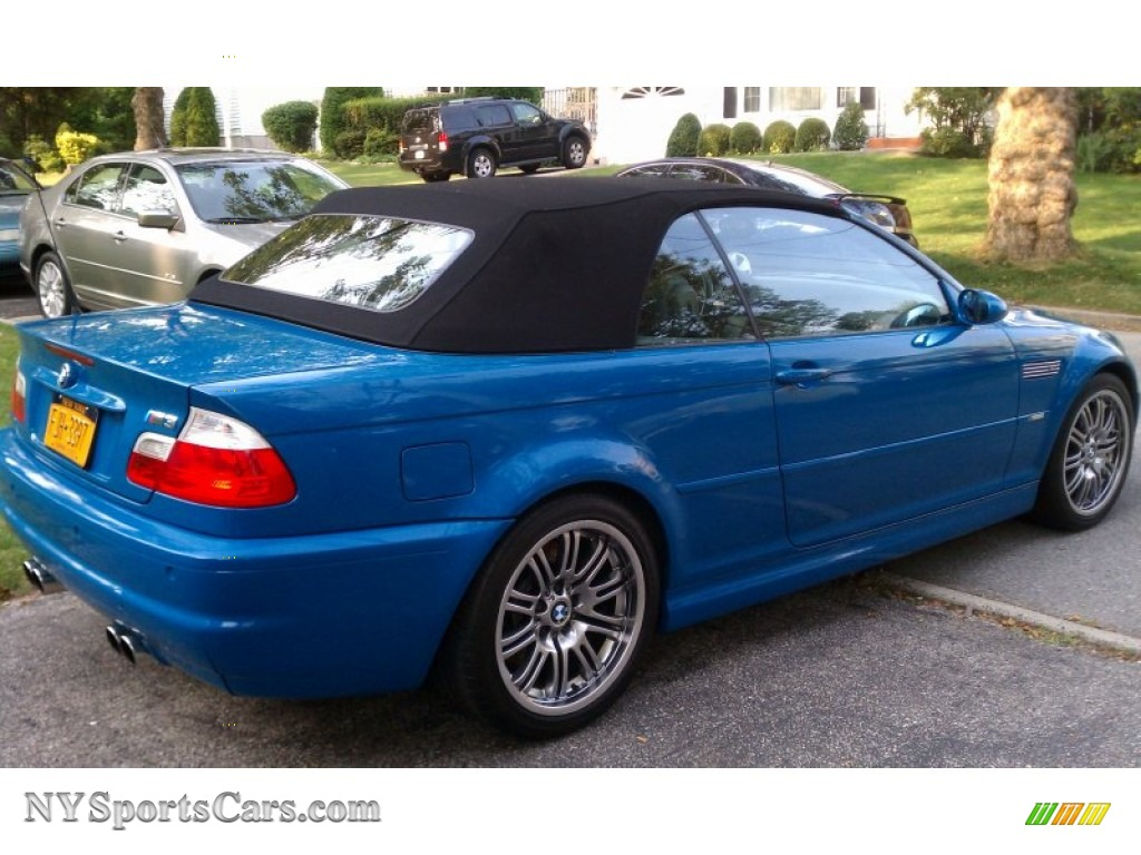 2002 Bmw M3 Convertible In Laguna Blue Photo 12 X21823