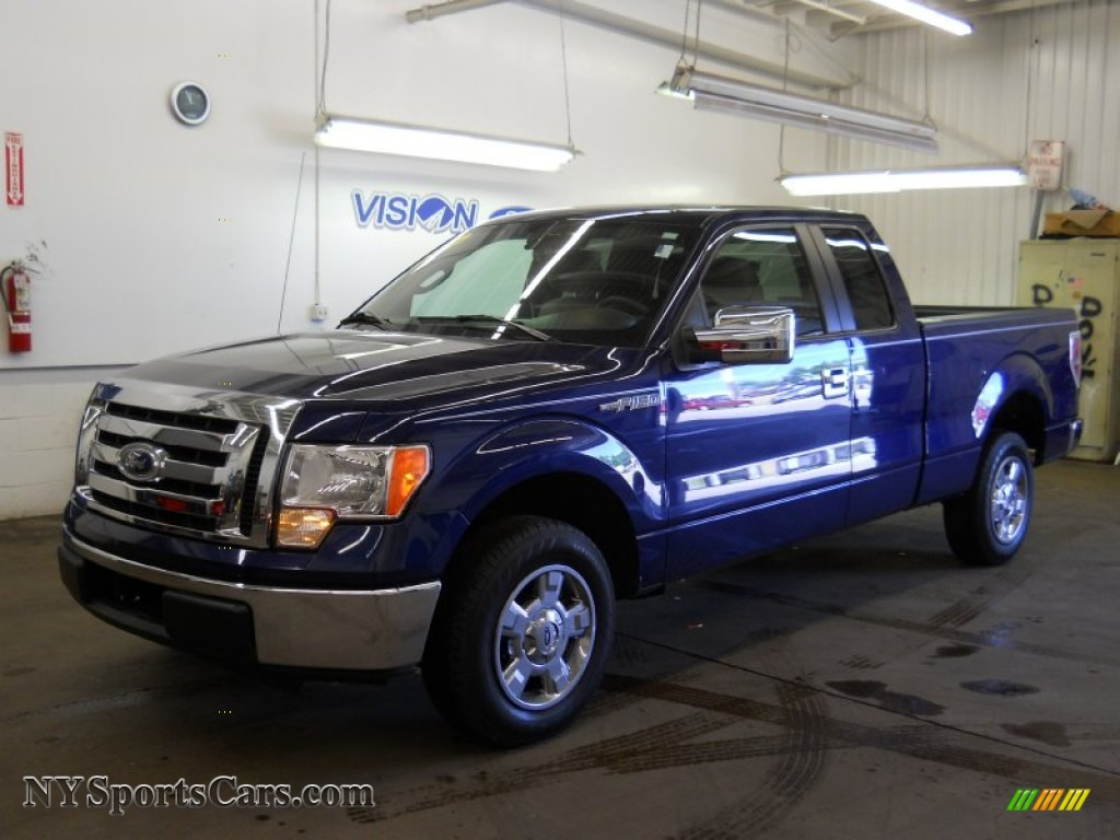 2010 ford f150 xlt supercab in dark blue pearl metallic a24461 cars for. Black Bedroom Furniture Sets. Home Design Ideas