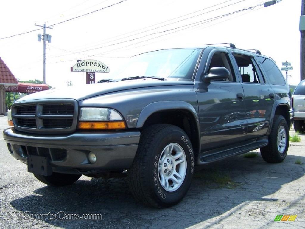 2002 Dodge Durango Sport 4x4 In Graphite Metallic 208948