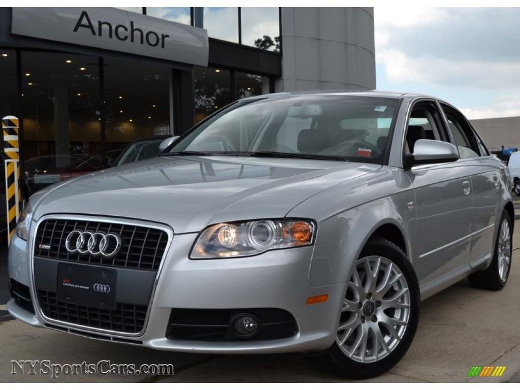 2008 audi a4 2 0t quattro s line sedan in light silver metallic 156384. Black Bedroom Furniture Sets. Home Design Ideas